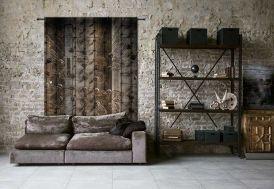 Tenture Murale Design en Coton Bio 145x190cm Hanging Baskets