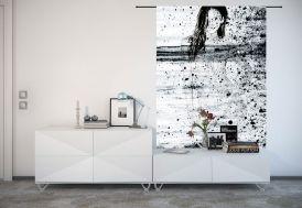 Tenture Murale de Designer en Coton Bio Storm
