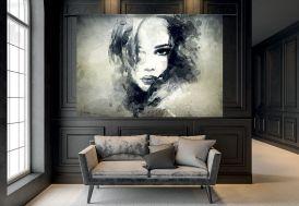 Tenture Murale Design en Coton Bio 185x145cm The Look