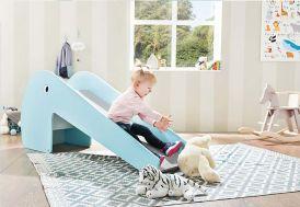 petit toboggan pour chambre d'enfant dès 2 ans