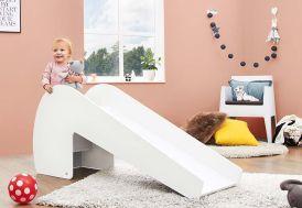 toboggan intérieur en bois pour enfant