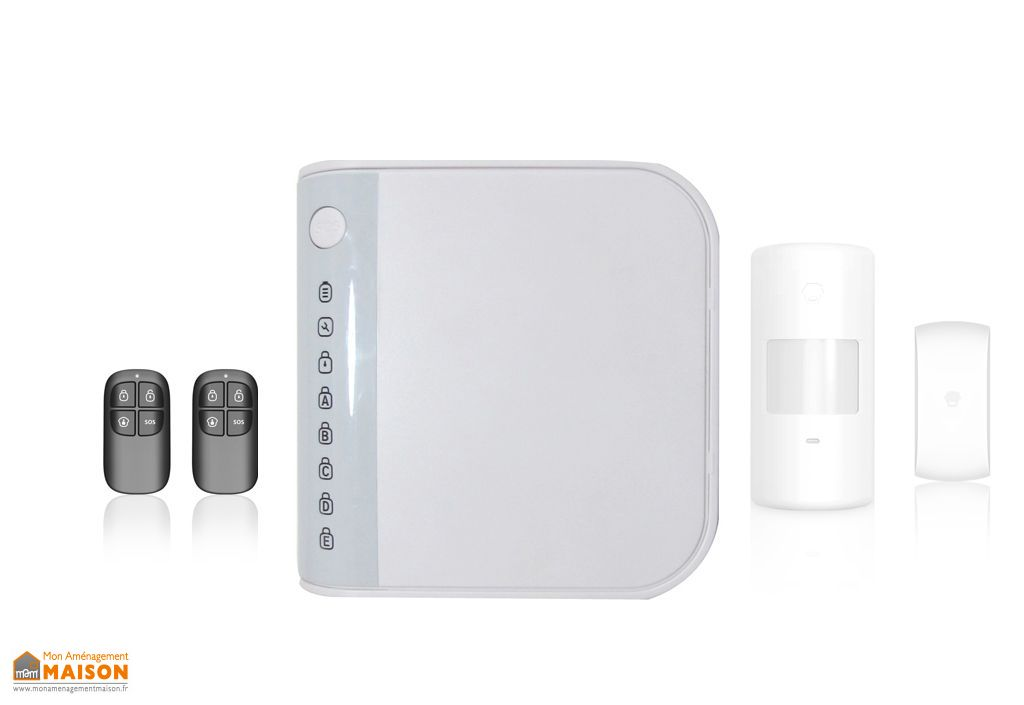 syst me d 39 alarme sans fil pour t l phone fixe sigmatek. Black Bedroom Furniture Sets. Home Design Ideas