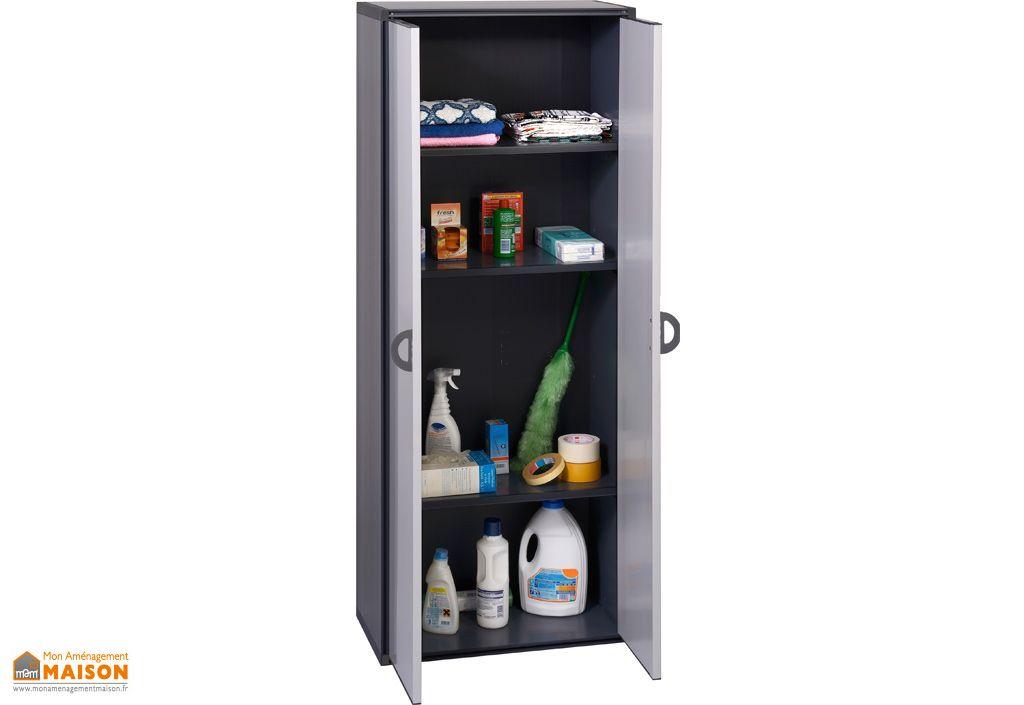 armoire de rangement r sine 2 portes garofalo. Black Bedroom Furniture Sets. Home Design Ideas