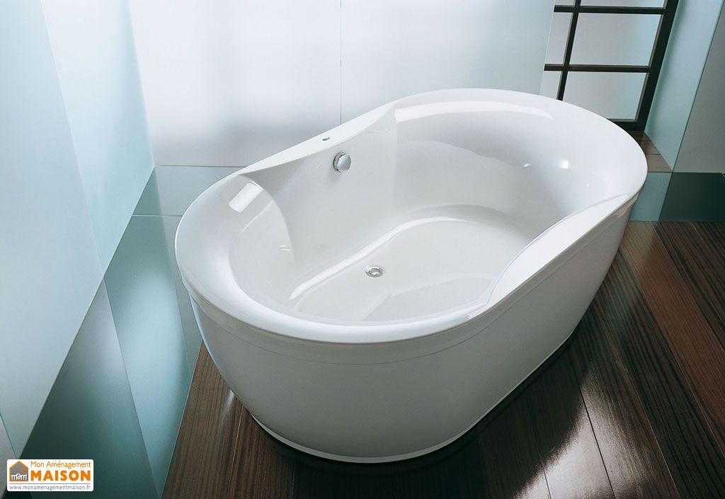 baignoire ovale acrylique 190 gloriana kolpa. Black Bedroom Furniture Sets. Home Design Ideas