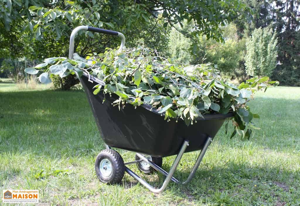 Brouette Haemmerlin Big Garden Roues Gonflées