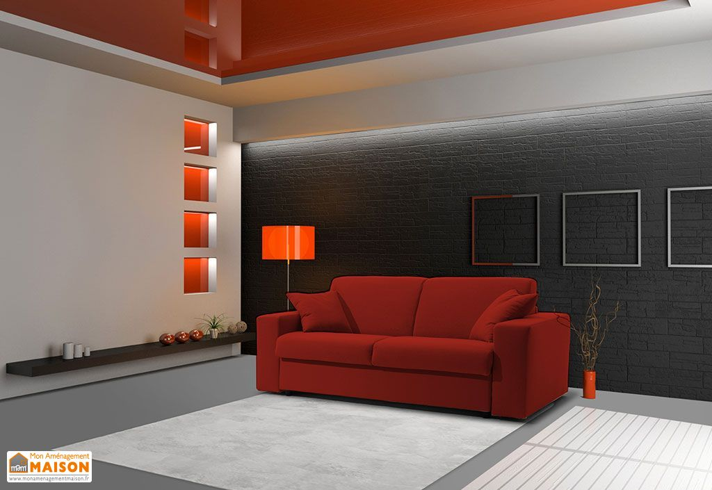 canap convertible en tissu 3p ecorapide 200x100 210x85cm. Black Bedroom Furniture Sets. Home Design Ideas