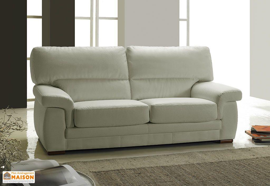canap en cuir reconstitu 2 places viviane 152x88x90 5 coloris canap en cuir reconstitu 2. Black Bedroom Furniture Sets. Home Design Ideas