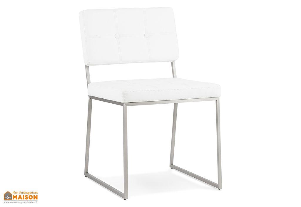 Chaise Kokoon Design Gami Blanc