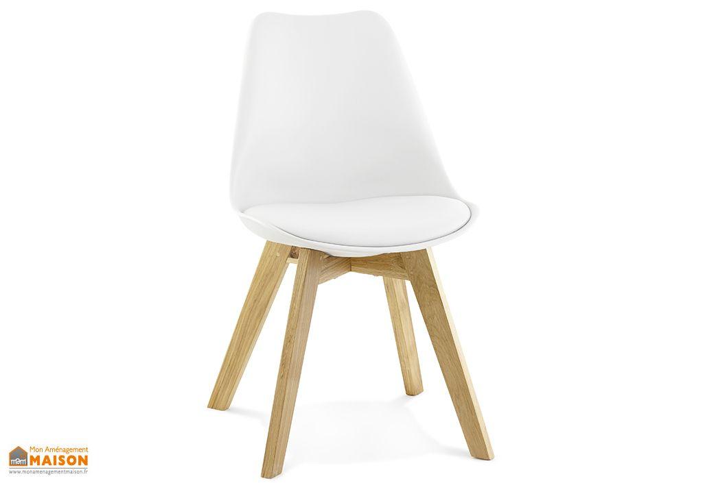 Chaise Design Kokoon Design Tylik Blanc
