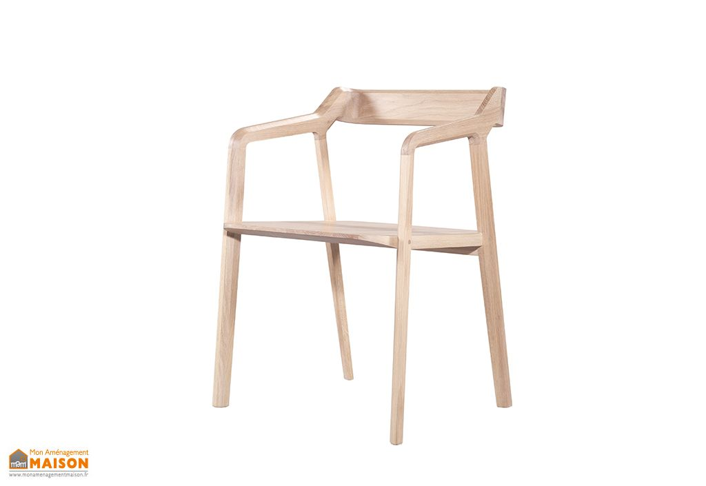 Chaise en Bois Wewood Kundera Chêne