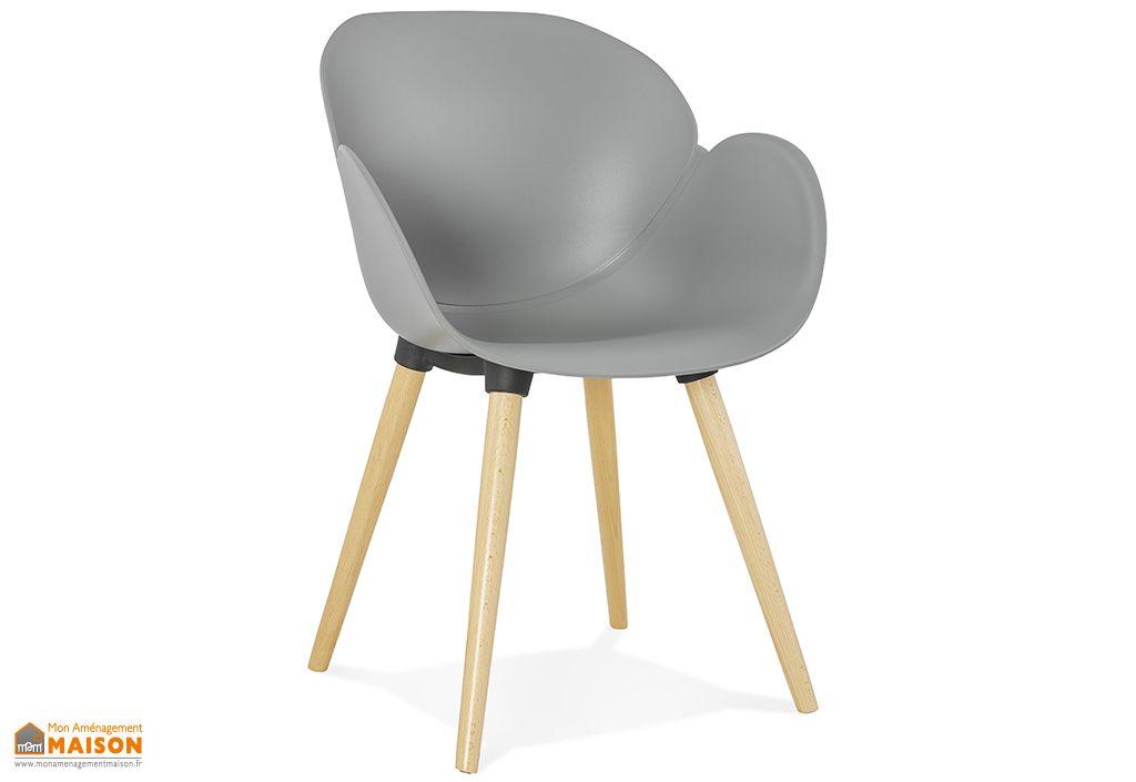 Chaise Kokoon Design Sitwel Gris