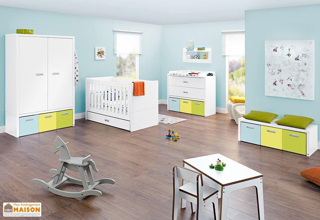 chambre evolutive pour b b et enfant enzo pinolino. Black Bedroom Furniture Sets. Home Design Ideas