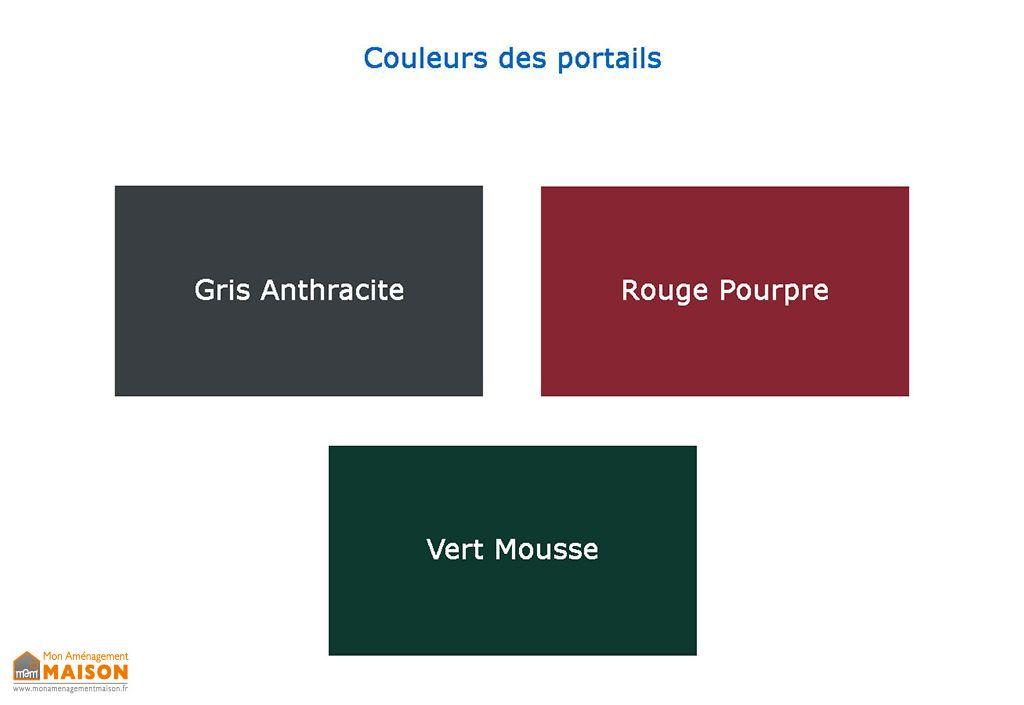Portillon Alu 1m Semi-Ajouré Thétys (3 coloris)