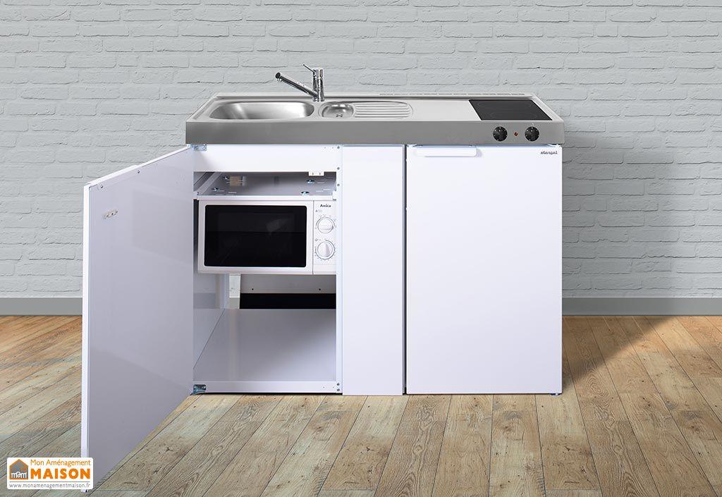Meuble frigo et micro onde - Cuisine au micro onde ...