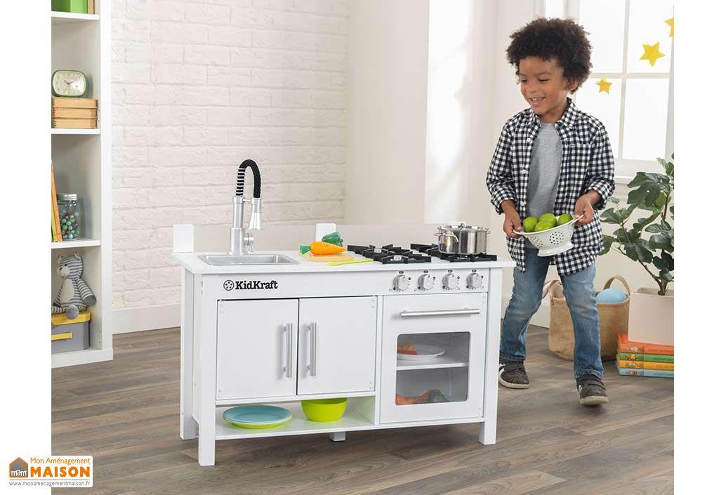 Cuisine Enfant Bois Blanche Little Cook S Work Station Kidkraft
