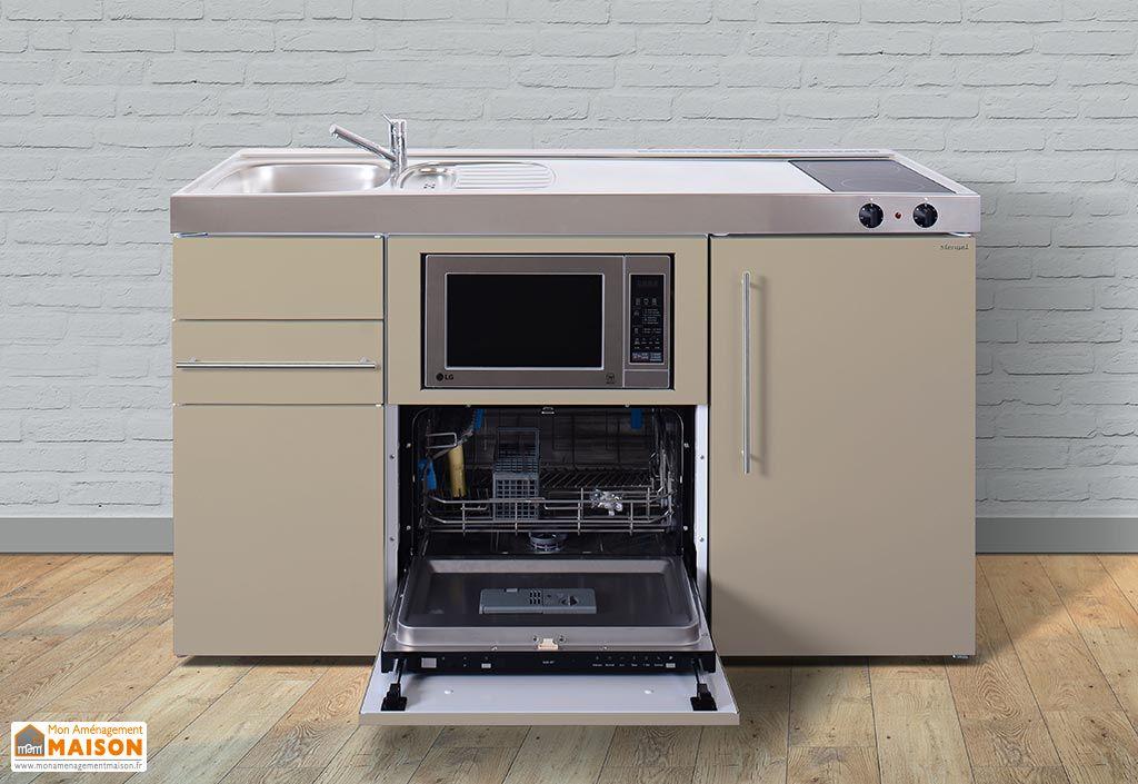 Mini cuisine avec frigo l v micro ondes et vitro mpgsm150 6 coloris mini cuisine avec - Mini cuisine equipee ...