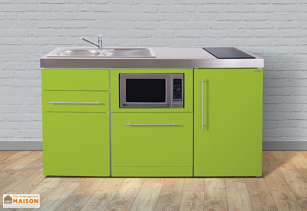 mini cuisine avec frigo l v micro ondes et induction mpgsm 160 stengel. Black Bedroom Furniture Sets. Home Design Ideas