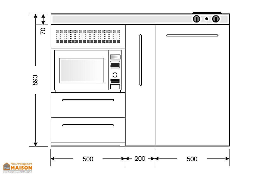 Mini-Cuisine Inox avec Micro-Ondes MPMES120