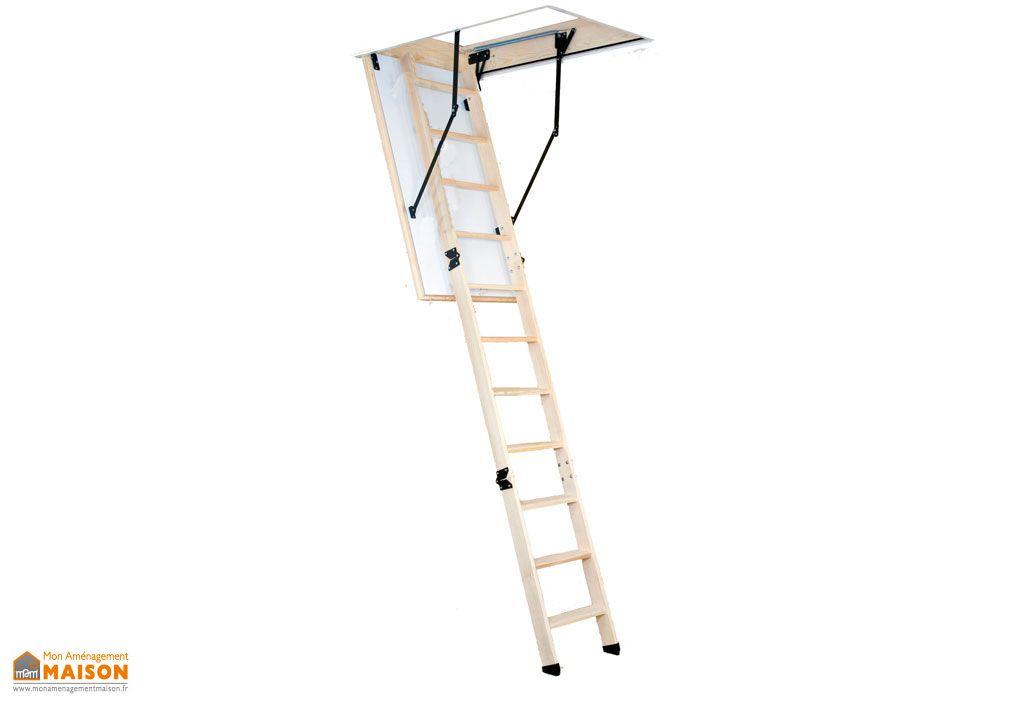 escalier escamotable isol grande hauteur 3 30m levigne. Black Bedroom Furniture Sets. Home Design Ideas