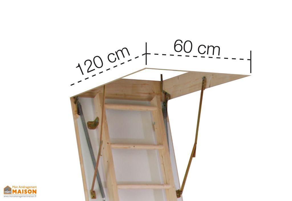 escalier escamotable bois avec caisson ekomax burger. Black Bedroom Furniture Sets. Home Design Ideas