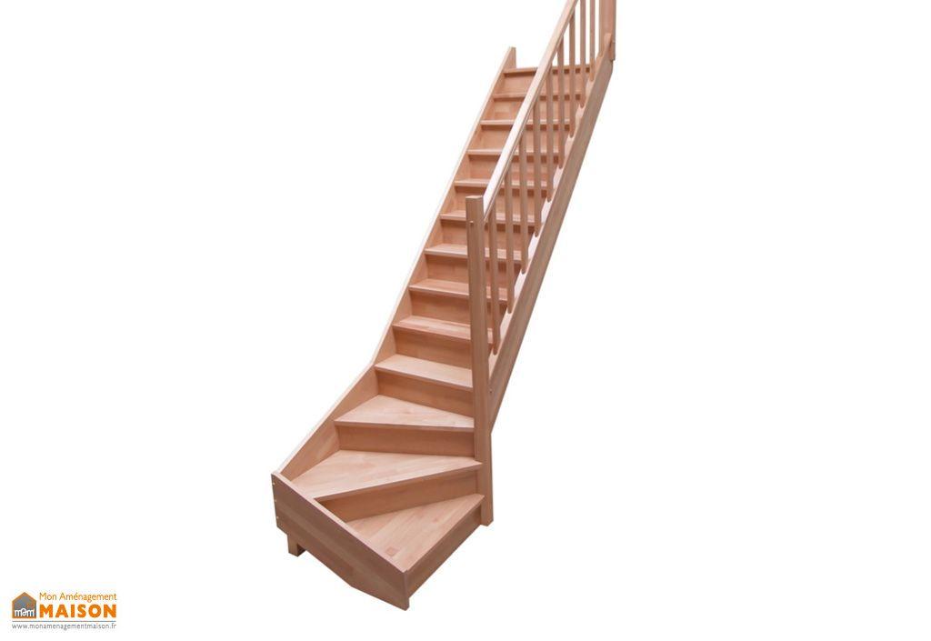 escalier quart tournant levigne