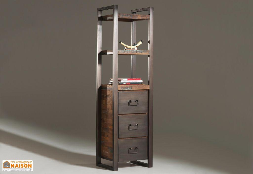 etag re en teck 3 tiroirs isis b cosy. Black Bedroom Furniture Sets. Home Design Ideas