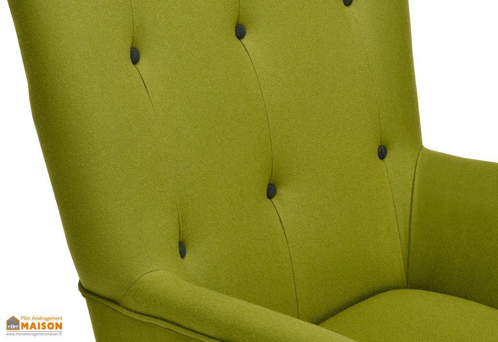 fauteuil scandinave repose pieds fargo pls coloris - Fauteuil Scandinave Avec Repose Pied