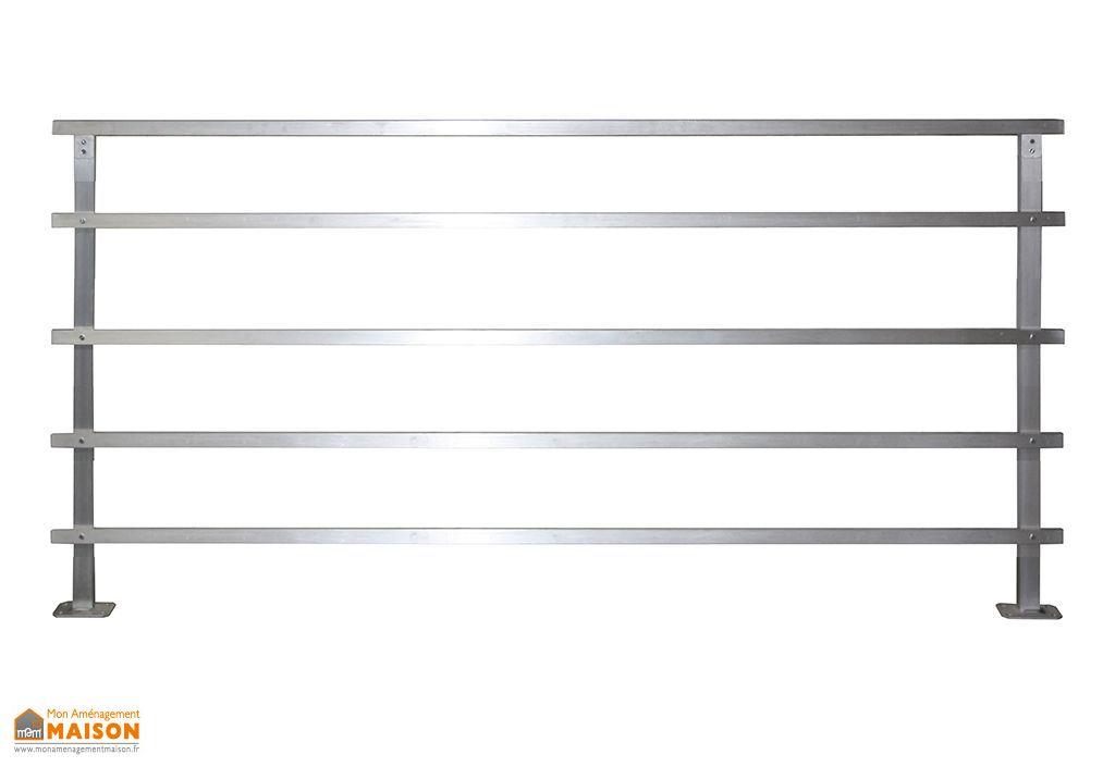 Garde-Corps en Aluminium pour Escalier Altis 2m