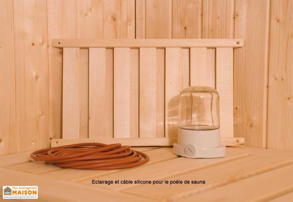 Sauna Weka 68 mm Osby + Poêle 230 V