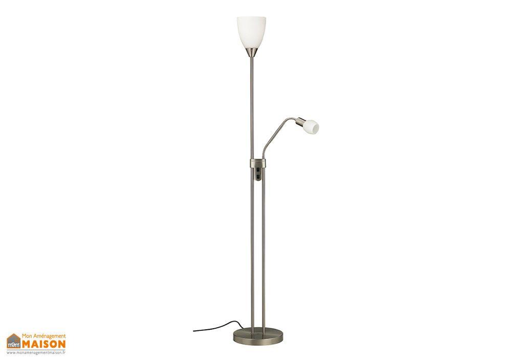 Lampadaire LED avec Liseuse Tulipe