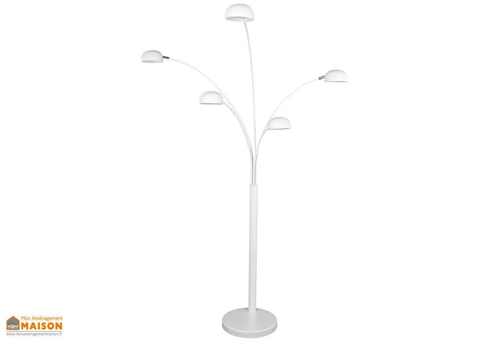 Lampadaire Kokoon Design Bush Blanc 200 cm