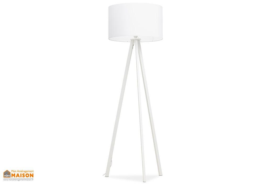 Lampadaire Kokoon Design Trivet Blanc