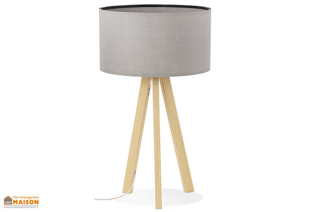 Lampe à Poser Kokoon Design Trivet Mini Gris