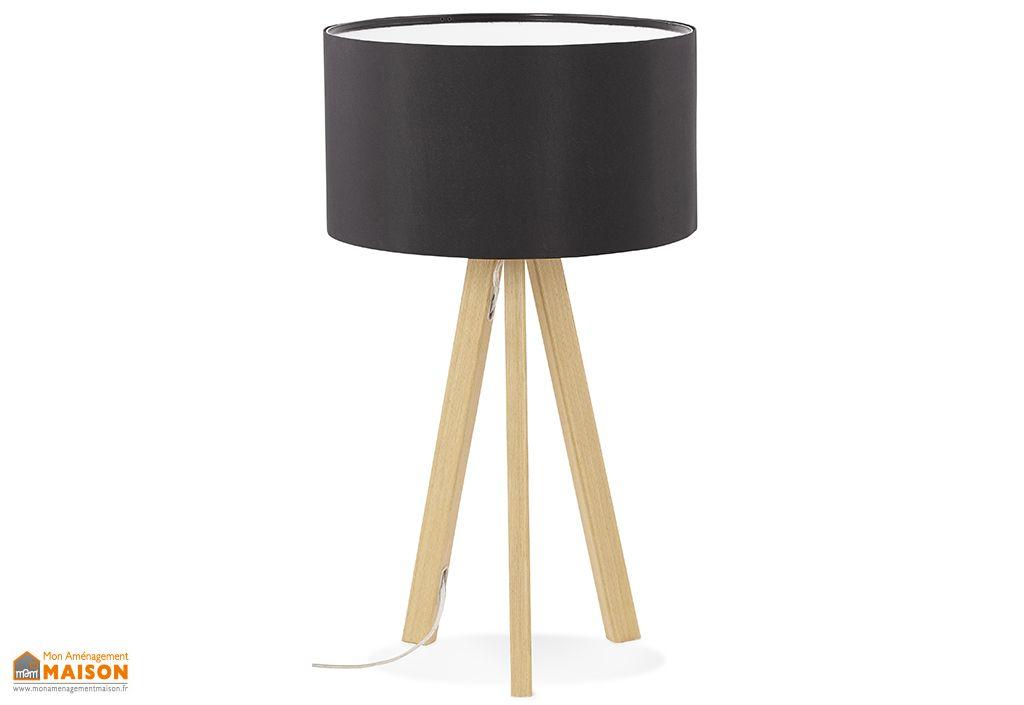 Lampe à Poser Kokoon Design Trivet Mini Noir