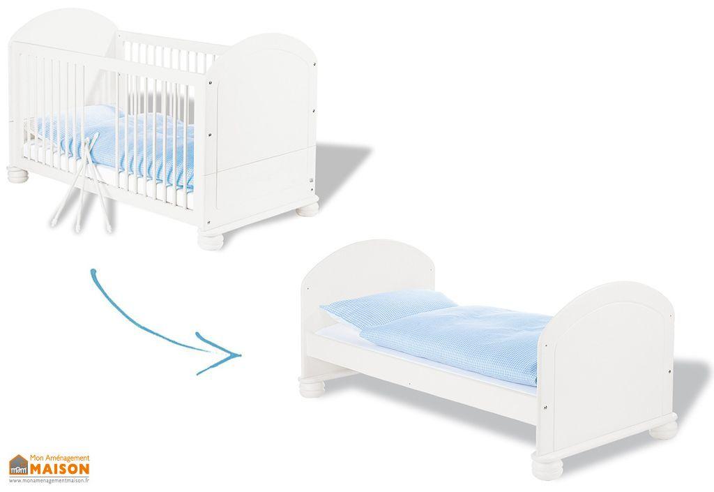 lit pour b b et enfant evolutif clara pinolino. Black Bedroom Furniture Sets. Home Design Ideas