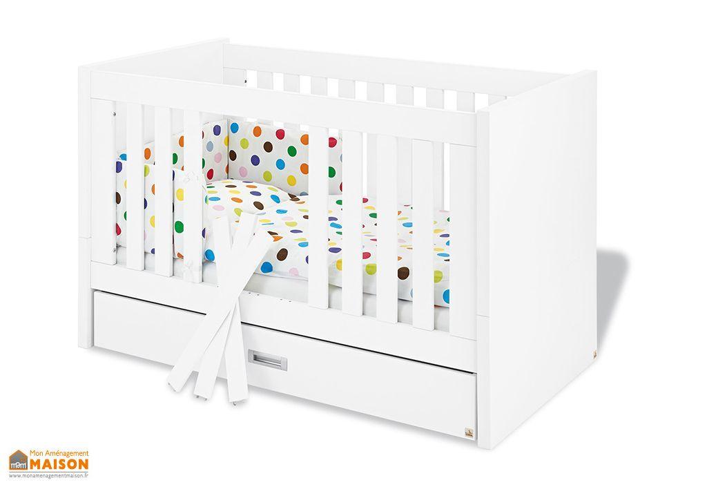 lit evolutif pour b b et enfant enzo pinolino. Black Bedroom Furniture Sets. Home Design Ideas