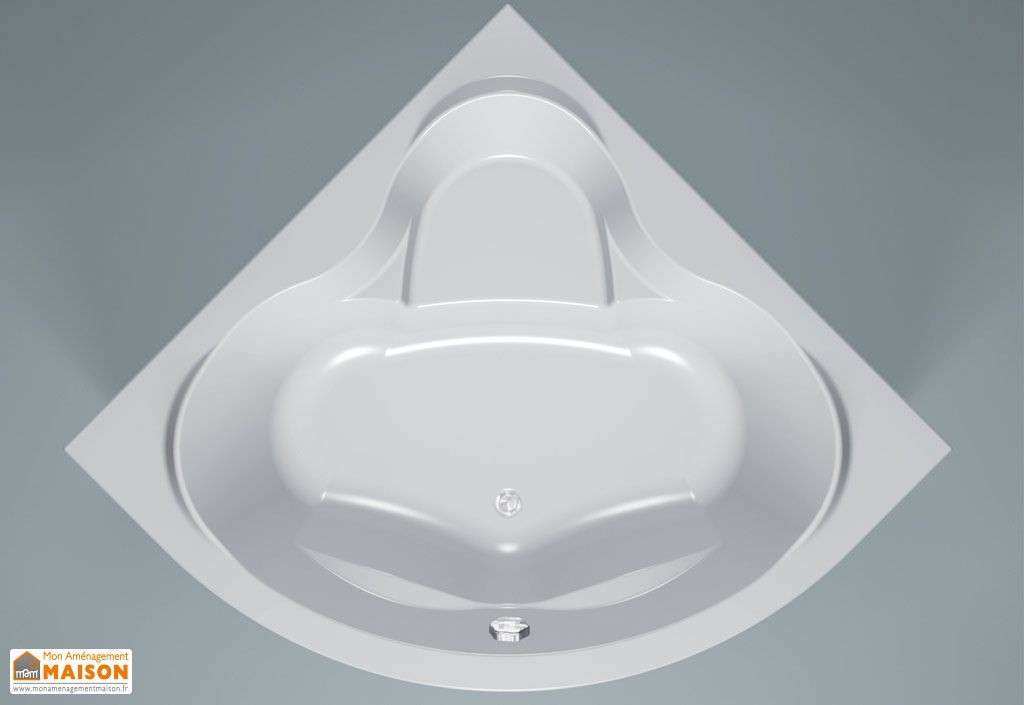 Baignoire d'Angle Acrylique Loco 150x150