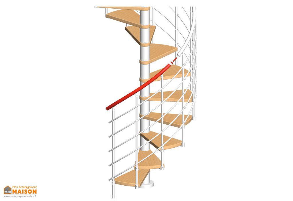 kit main courante 2 marches escalier oslo rampe. Black Bedroom Furniture Sets. Home Design Ideas