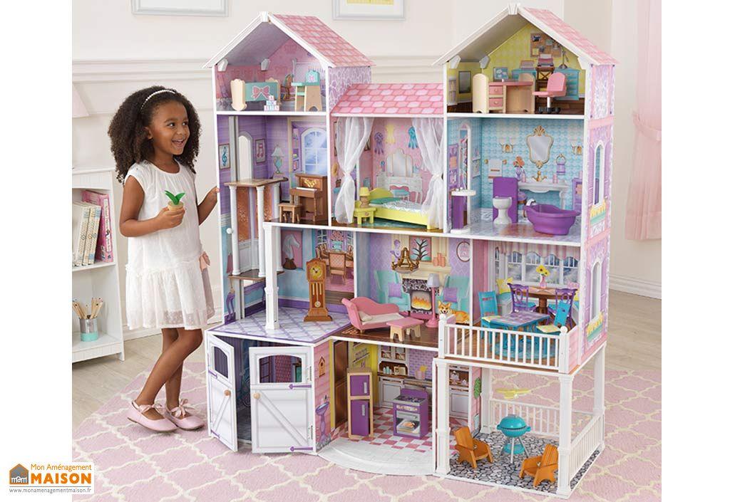 maison de poup es country estate kidkraft. Black Bedroom Furniture Sets. Home Design Ideas