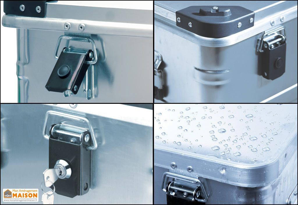malle aluminium de transport et de stockage d415 alutec. Black Bedroom Furniture Sets. Home Design Ideas