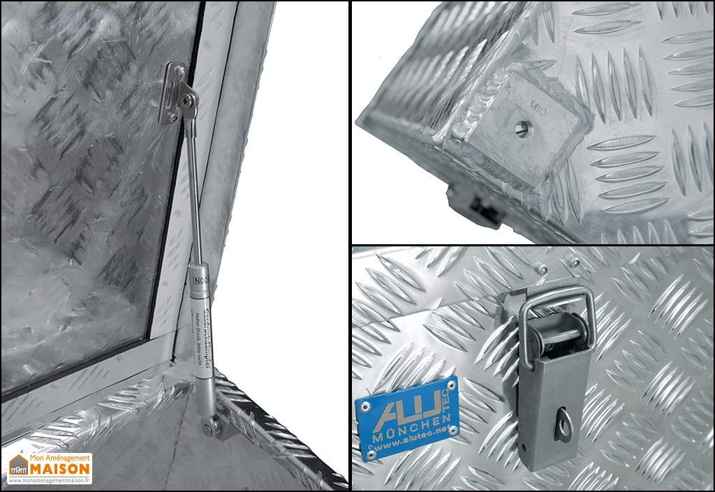 malle aluminium de transport et de stockage r312 alutec. Black Bedroom Furniture Sets. Home Design Ideas