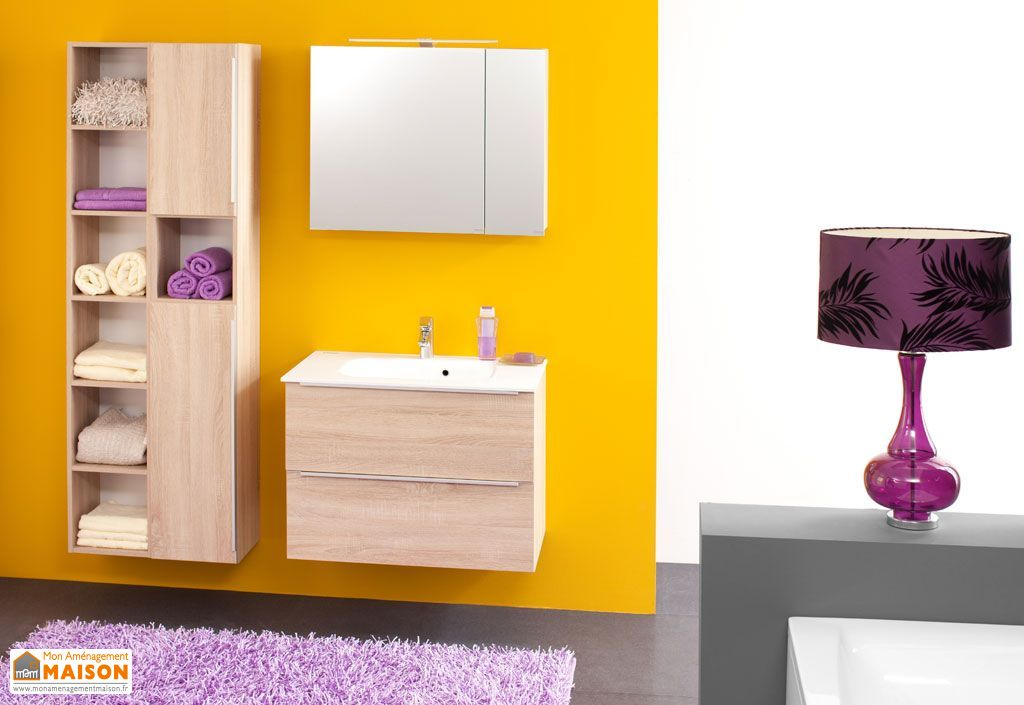 meuble de salle de bain avec plan de toilette en kerrock zena 80 kolpa. Black Bedroom Furniture Sets. Home Design Ideas