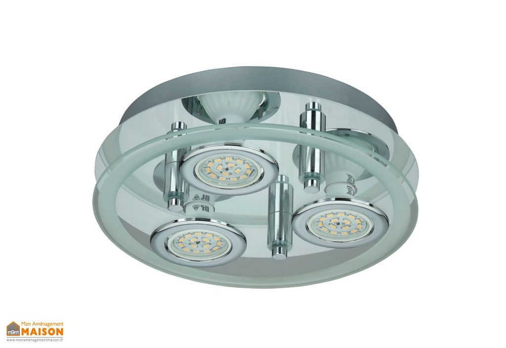 Plafonnier LED Rond Flash 25cm