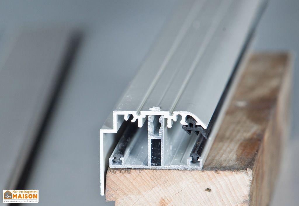 Kit Rive Non Portant Profil T + Capot Blanc 16 mm Sur Mesure