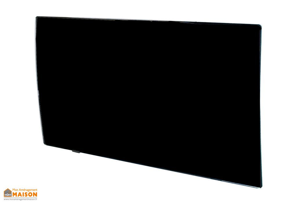 radiateur inertie en fonte avec fa ade en verre noir radiateur inertie en fonte avec. Black Bedroom Furniture Sets. Home Design Ideas
