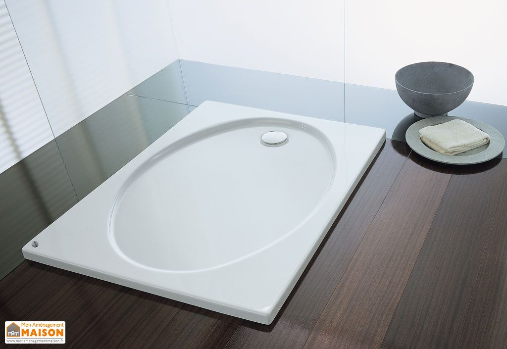 receveur de douche acrylique encastrer rumba kolpa. Black Bedroom Furniture Sets. Home Design Ideas