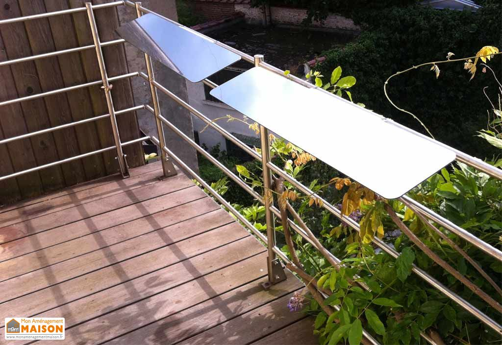 r flecteur de lumi re pour balcon espaciel espaciel. Black Bedroom Furniture Sets. Home Design Ideas