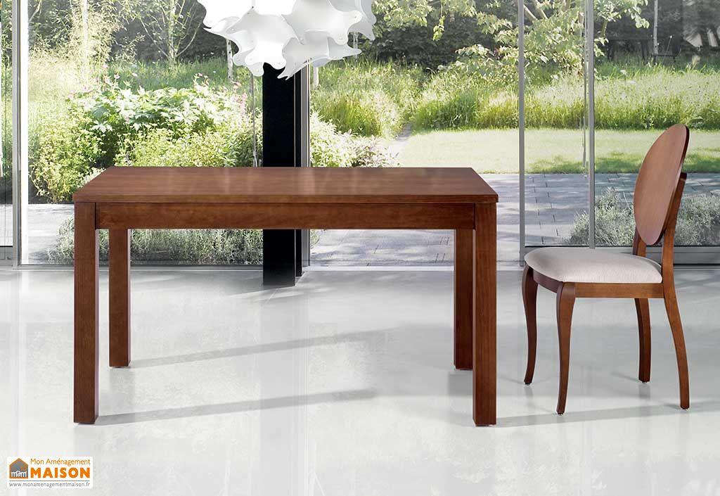 Table de salle manger extensible 140 200x90 en pin massif hispania ruiz y - Salle a manger pin massif ...