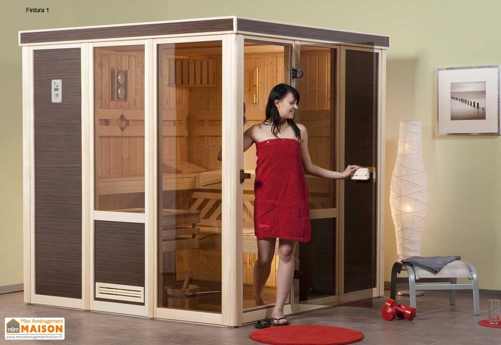 Sauna finlandais 68 mm fintura 1 po le 230 v sauna lement 68 mm fintura - Sauna finlandais prix ...