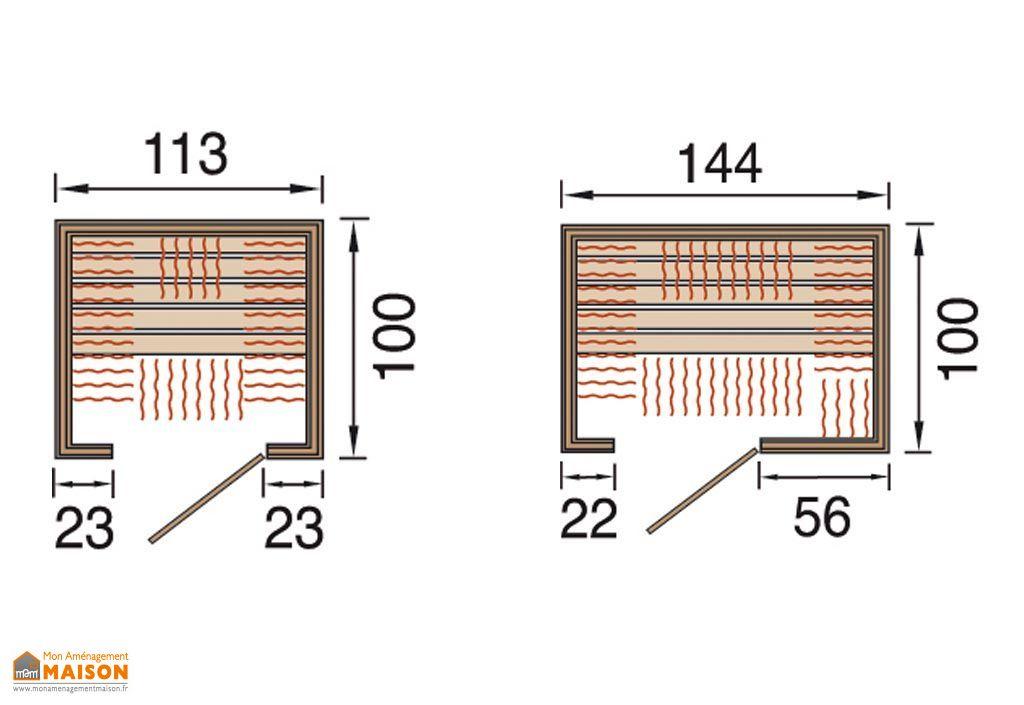 Sauna Infrarouge Radiant Weka Therm FSF